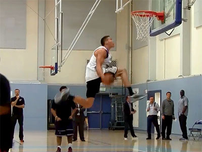 Aaron Gordon 2014 NBA Pre-Draft Workout and Interview Video