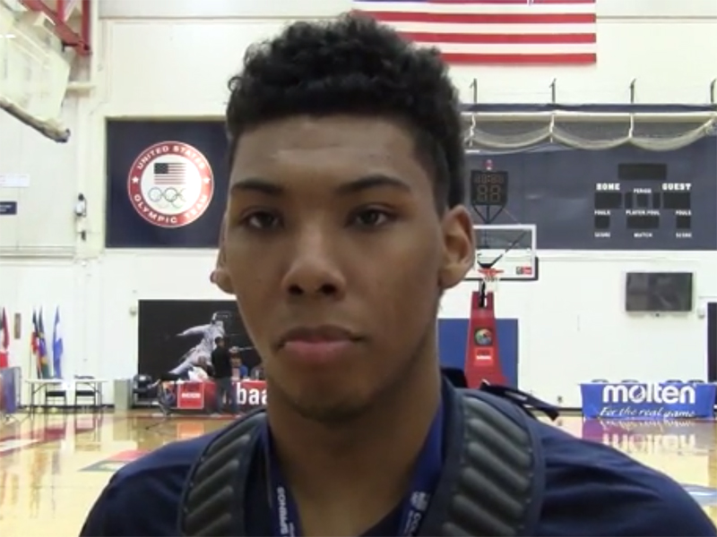 2014 FIBA U18 Americas Interview: Allonzo Trier