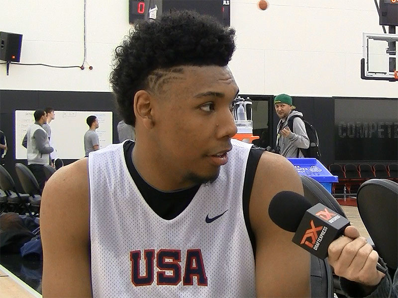 2015 Nike Hoop Summit Video Interview: Allonzo Trier