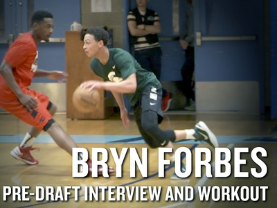 Bryn Forbes 2016 NBA Pre-Draft Workout Video and Interview