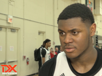2015 McDonald's Video Interview and Highlights: Diamond Stone