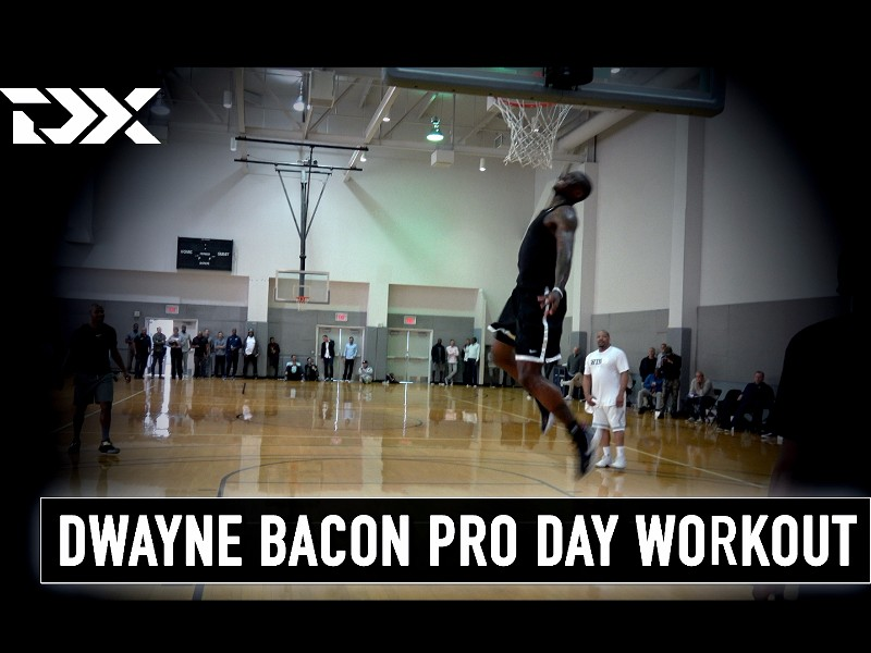 Dwayne Bacon NBA Pro Day Workout Video