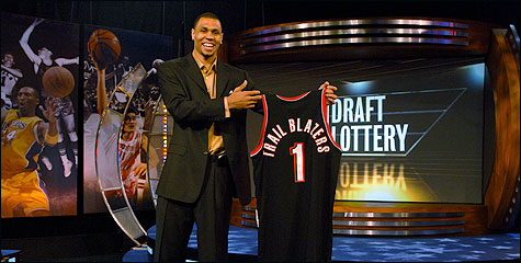 Post-Lottery Interview: Kevin Pritchard, Brandon Roy, more
