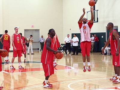 McDonald's All-American Practices, Day One