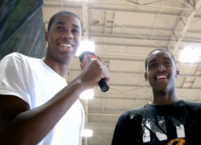 2010 Boost Mobile Elite 24: Hassan Whiteside Interviews Quincy Miller