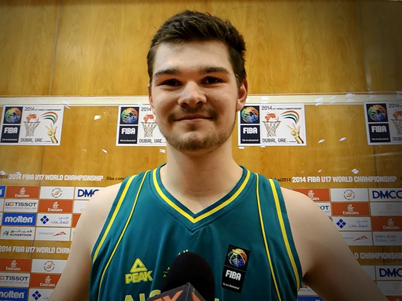 FIBA U17 World Championship Interview: Isaac Humphries