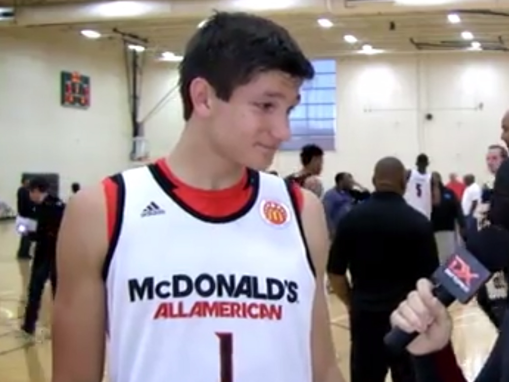 2014 McDonald's Video Interviews: Rashad Vaughn and Grayson Allen
