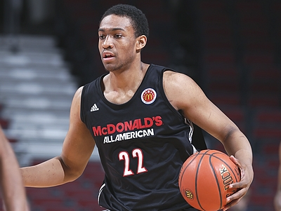 Jabari Parker McDonald's All-American Interview/Practice Highlights