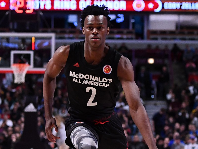 Jarred Vanderbilt McDonald's All-American Practice Highlights