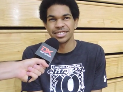Jarrett Allen Under Armour Elite 24 Interview