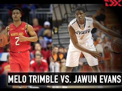 Matchup Video: Melo Trimble vs Jawun Evans