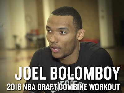 Joel Bolomboy 2016 NBA Pre-Draft Workout Video and Interview
