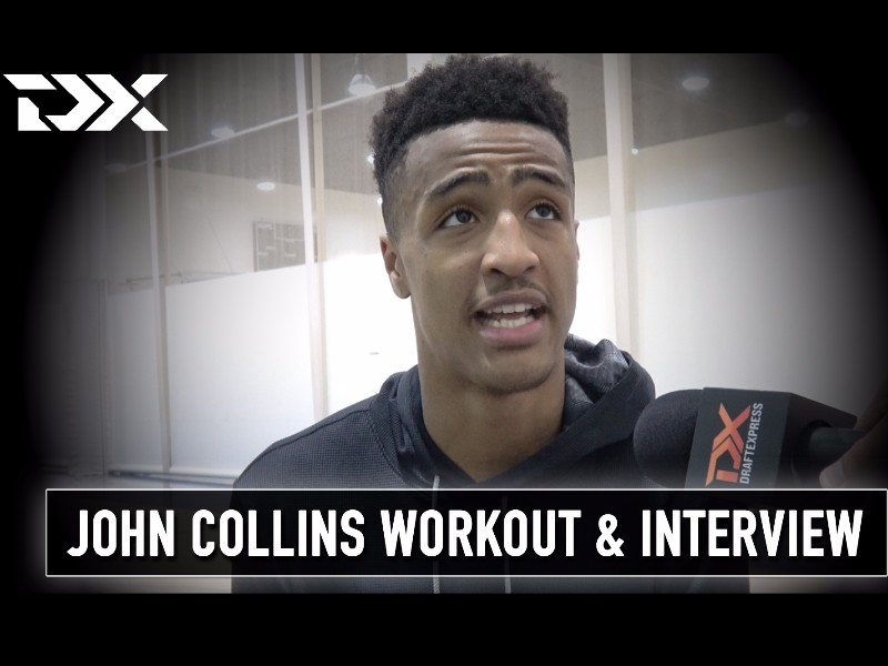 John Collins NBA Pre-Draft Workout and Interview