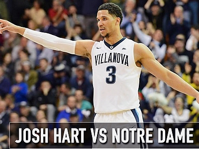 Matchup Video: Josh Hart vs Notre Dame