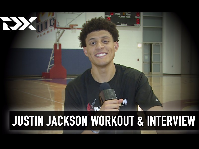 Justin Jackson NBA Pre-Draft Workout and Interview