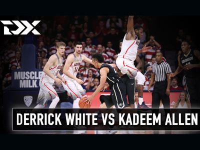 Matchup Video: Kadeem Allen vs Derrick White