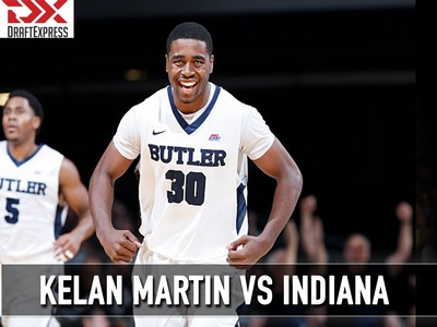 Matchup Video: Kelan Martin vs Indiana