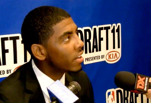 Media Day Interviews: Irving, Knight, Valanciunas, Leonard, Burks