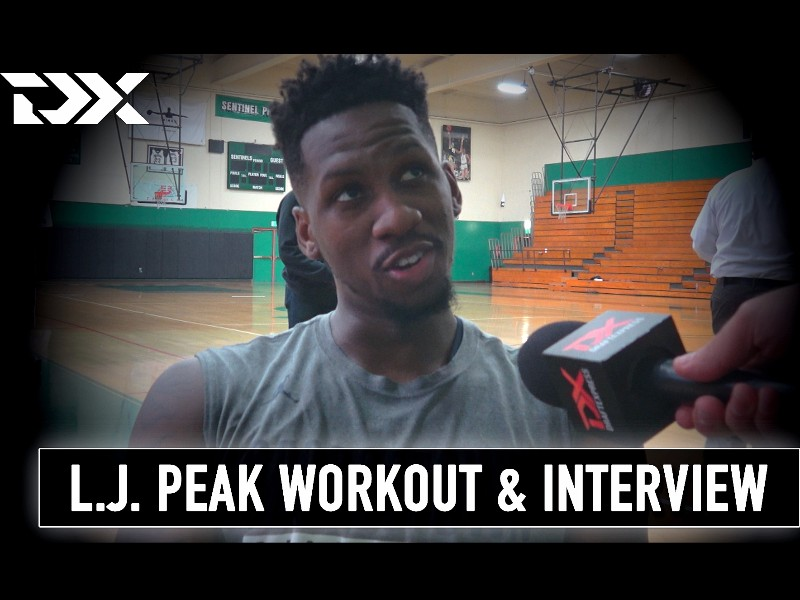L.J. Peak Pro Day Workout Video and Interview