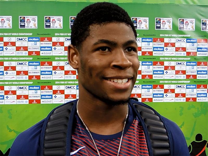 2014 U17 World Championship Interview: Malik Newman