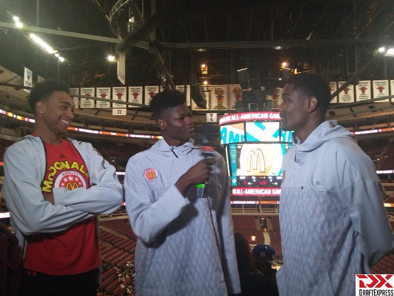 Mo Bamba Interviews DeAndre Ayton and Chuck O'Bannon