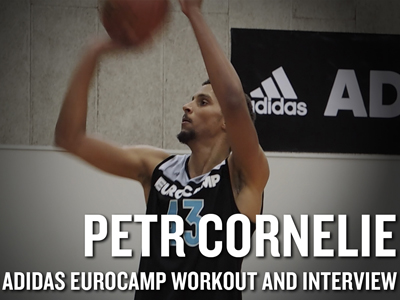 Petr Cornelie adidas Eurocamp Workout and Interview