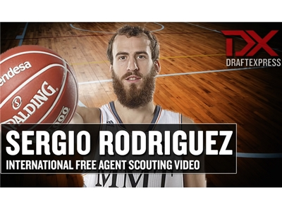 Sergio Rodriguez International Free Agent Scouting Video