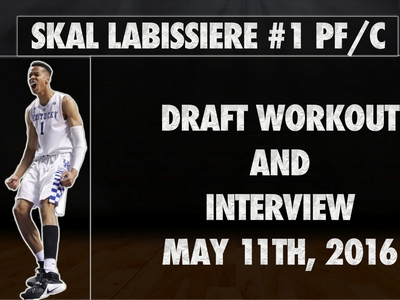Skal Labissiere 2016 NBA Pre-Draft Workout and Interview Video