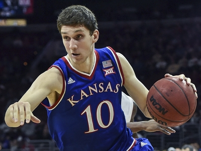Top NBA Prospects in the Big 12, Part 2: Sviatoslav Mykhailiuk Video