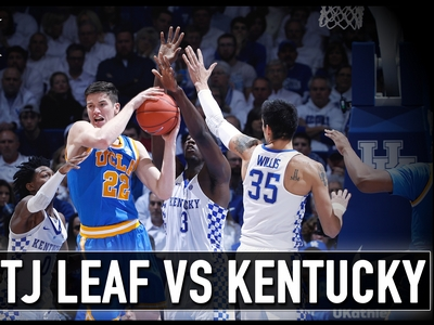 Matchup Video: T.J. Leaf vs Kentucky