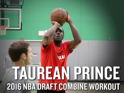 Taurean Prince 2016 NBA Pre-Draft Workout Video