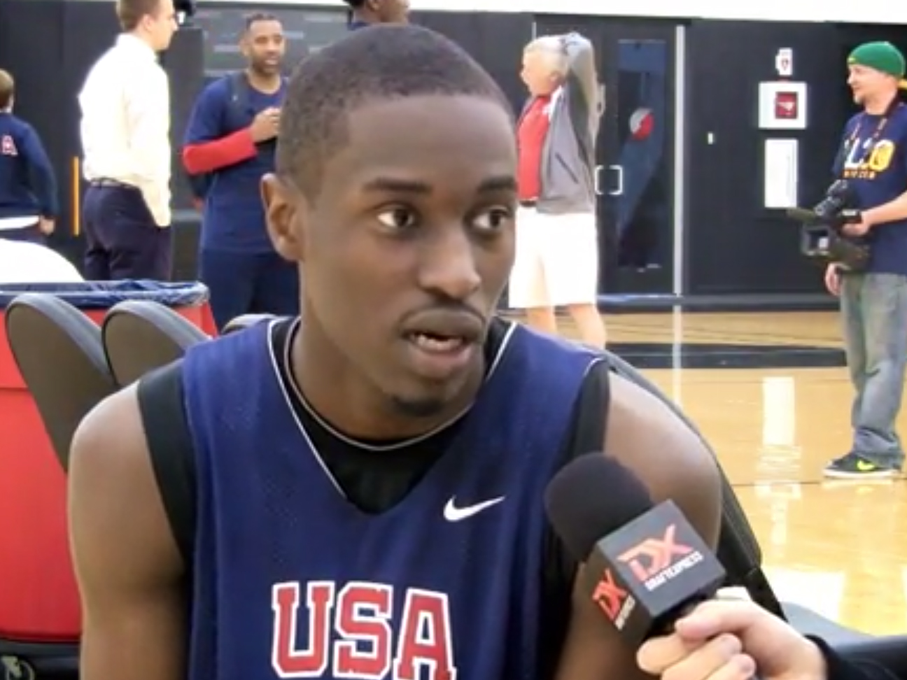 2014 Nike Hoop Summit Video Interview: Theo Pinson, Mykhailiuk