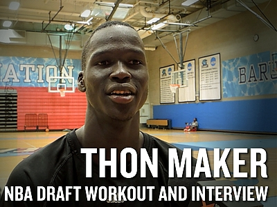 Thon Maker 2016 NBA Pre-Draft Workout Video and Interview