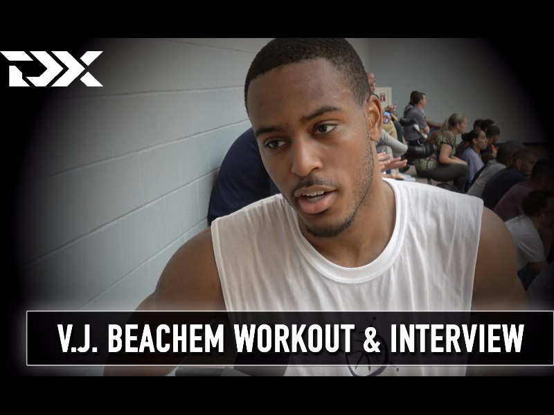 V.J. Beachem BDA Sports Pro Day Workout and Interview