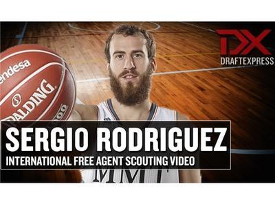 Sergio Rodriguez International Free Agent Scouting Video