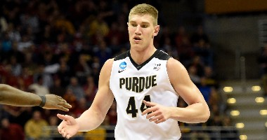 Isaac Haas nba mock draft